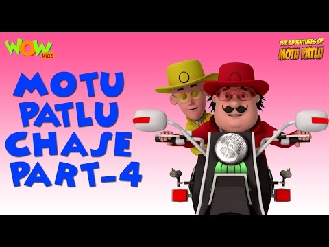 Scooter Race Motu Patlu In Hindi With English Spanish French