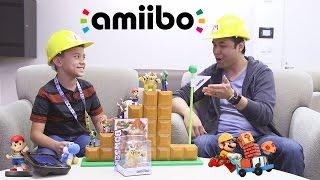 amiibo TIME!!! ft. Super Mario Maker, Yoshi