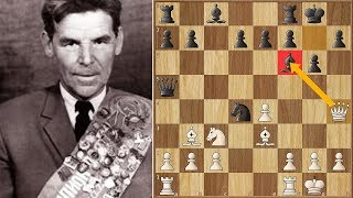 The Greatest Queen Sacrifice in Chess History | Nezhmetdinov vs Chernikov (1962)