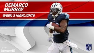 DeMarco Murray Breaks Off 115 Yards vs. Seattle | Seahawks vs. Titans | Wk 3 Player Highlights