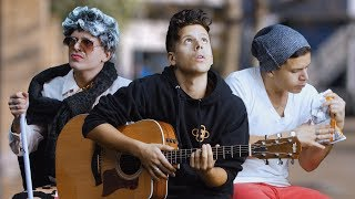 Crazy Bus Stop Music | Rudy Mancuso