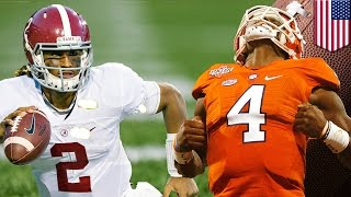 Alabama v Clemson National Championship preview: Tide and Tigers are set to go - TomoNews