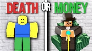 Death, or money || ROBLOX Social Experiment