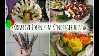 Tolle Ideen für den Kindergeburtstag | Essen & Mitgebsel