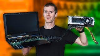 Put a Desktop GPU in a LAPTOP… The CHEAP WAY!