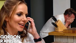 Spice Girl Geri Halliwell Phones Gordon Ramsay