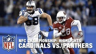 Cardinals vs. Panthers | NFC Championship Highlights | NFL