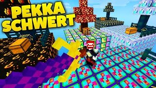 P.E.K.K.A. SCHWERT IN MINECRAFT | LUCKY BLOCKS KING