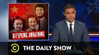 China Ditches Its One-Child Policy: The Daily Show