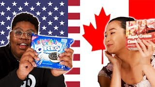 Americans & Canadians Swap Snacks