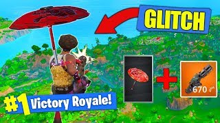 SHOOTING While FLYING *GLITCH* In Fortnite Battle Royale!