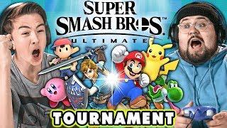 Super Smash Bros. Ultimate TOURNAMENT! | React: Gaming