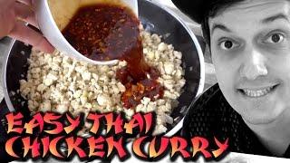 Kochen und klettern... mega einfaches & sauleckeres Thai Chicken Curry