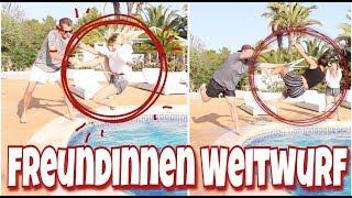 Freundinnen - WEITWURF 😲 Pärchen BATTLE | BibisBeautyPalace