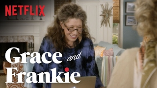 Grace and Frankie | Season 2 - Bloopers | Netflix