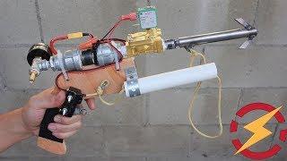 Awesome Homemade Grappling Hook Gun