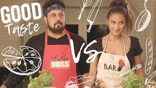 My Pizza Cooking Showdown with Lawrence - Good Taste (Episode 3) | Shay Mitchell