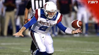 Johnny Manziel Highlights From His Second CFL Start