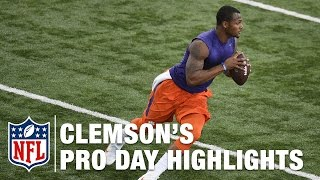 Clemson Pro Day: Deshaun Watson and Mike Williams Highlights & Mike Mayock
