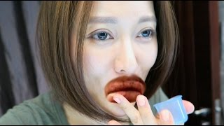 ♛[QQ香腸嘴]DIY 豐唇器 ♥ How To DIY Lip Plumper Cup