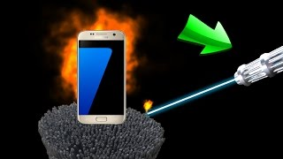 EXPERIMENT 900 Wunderkerzen VS Samsung Galaxy S7 🍎