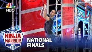 Joe Moravsky at the Las Vegas National Finals: Stage 2 - American Ninja Warrior 2017