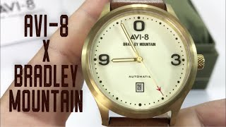The AVI-8 x Bradley Mountain Flyboy Collection Mountain Aviator Watch Review