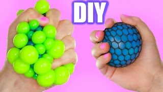 DIY Super Cool Squishy Stress Ball! How to Make The Coolest Stress Ball!