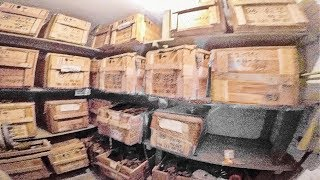 I found an underground safe house with MUCH more stuff...