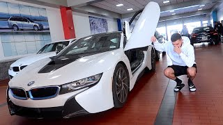 Saying goodbye to my BMW i8...