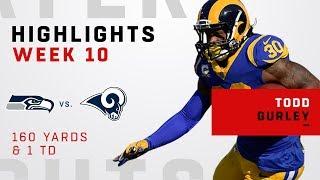 Todd Gurley Highlights vs. Seahawks