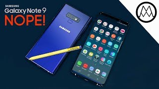 Why you might want to skip Samsung Note 9.