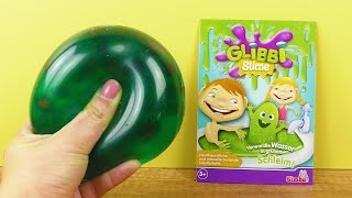 Glibbi Slime Antistressball | WASSERPERLEN & Schleim Ball | NEUER Antistressball | FUN