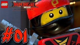 THE LEGO NINJAGO MOVIE VIDEOGAME GAMEPLAY #001 🐉 Kai & Cole | EgoWhity
