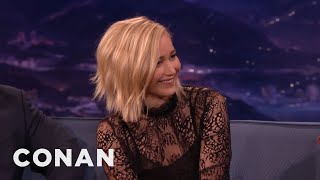 "Jennifer Lawrence Slept With Her ""Hunger Games"" Co-Stars  - CONAN on TBS"