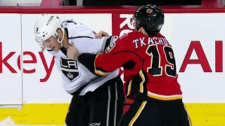 Tkachuk finally settles beef, gets dropped by McNabb