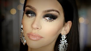 Black SMOKEY Eye | FULL FACE M..