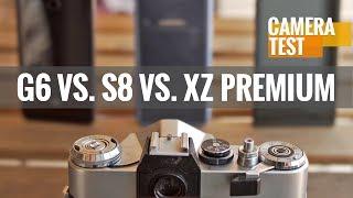LG G6 vs. Galaxy S8 vs. Xperia XZ Premium - Which one has the ultimate camera?
