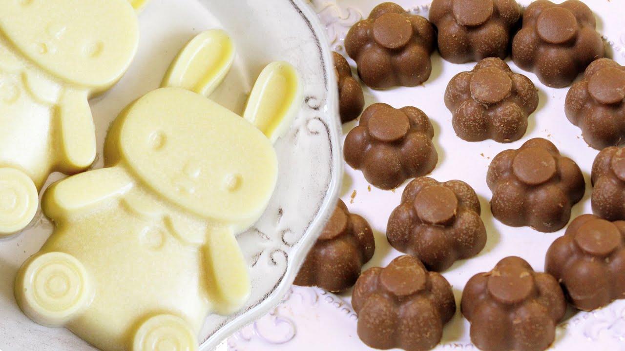 Как приготовить в домашних условиях белый шоколад