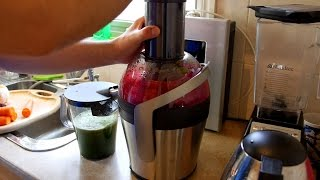 Phillips Easy Clean Juicer Unboxing & Demo Review