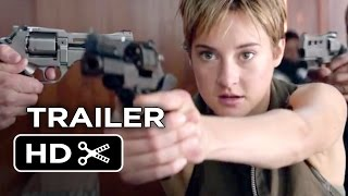 Insurgent Official Trailer - Fight Back (2015) - Shailene Woodley Divergent Sequel HD