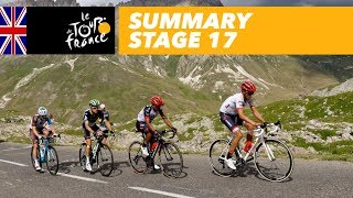 Summary - Stage 17 - Tour de France 2017
