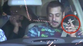 Salman Khan Started Smoking Again!