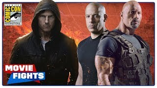 Mission: Impossible vs. Fast and the Furious - MOVIE FIGHTS (SDCC 2018 Panel)