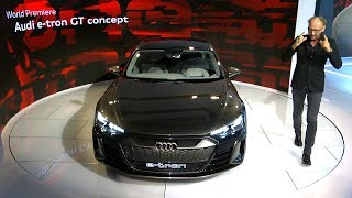 Audi e-tron GT Concept Reveal at the Los Angeles Auto Show