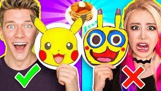 PANCAKE ART CHALLENGE 5!!! Learn How To Make Minions Pokemon Incredibles 2 Tomb Raider DIY Pancakes