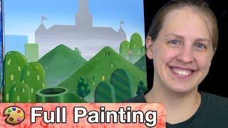 "Mario 64 - ""Castle 64"" Painting (Full Version)"
