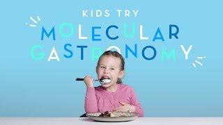 Kids Try Molecular Gastronomy