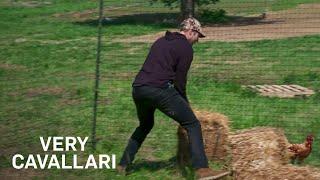Can Jay Cutler Catch a Chicken?   Very Cavallari   E!