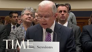 Jeff Sessions Angrily Says He Didn